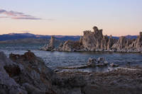 Tufa structures at Mono Lake, California