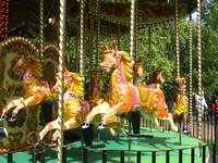 London Hyde Park Carousel