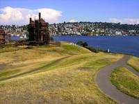 GasWorks Park from West Hill