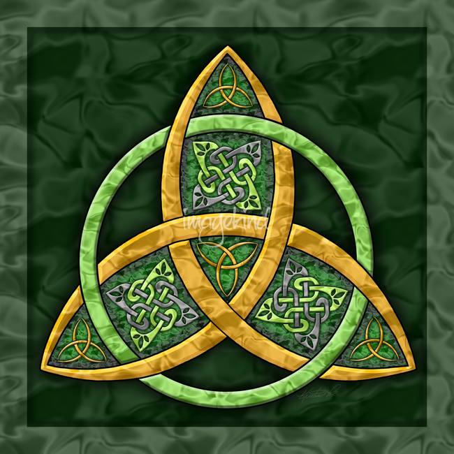 Celtic Trinity Knot By Kristen Fox