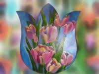 Tulips within