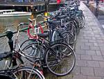 Bike Parking -- Amsterdam in November