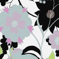 -a-flora-abstract-organic-purple-urban-trend-bold by Ricki Mountain