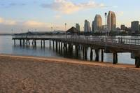 View of the pier on Coronado