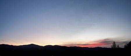 Foothill Sunrise Panorama
