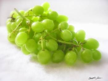 Green Grapes 1 by Christopher Johnson