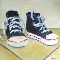 basketball shoes - first pair by tracie brown