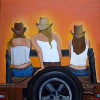 girls on a jeep by tracie brown