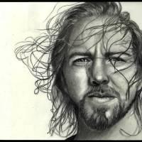 """""""Eddie Vedder"""" by ArtByAlycia"""