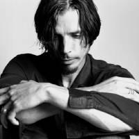 """Chris Cornell black and white"" by StephenStickler"