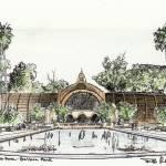 """""""Botanical Building drawing by Riccoboni"""" by RDRiccoboni"""