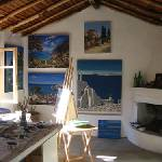 My Art Studio in Greece Prints & Posters