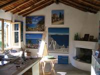 My Art Studio in Greece