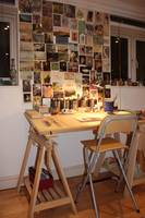 My art studio in London