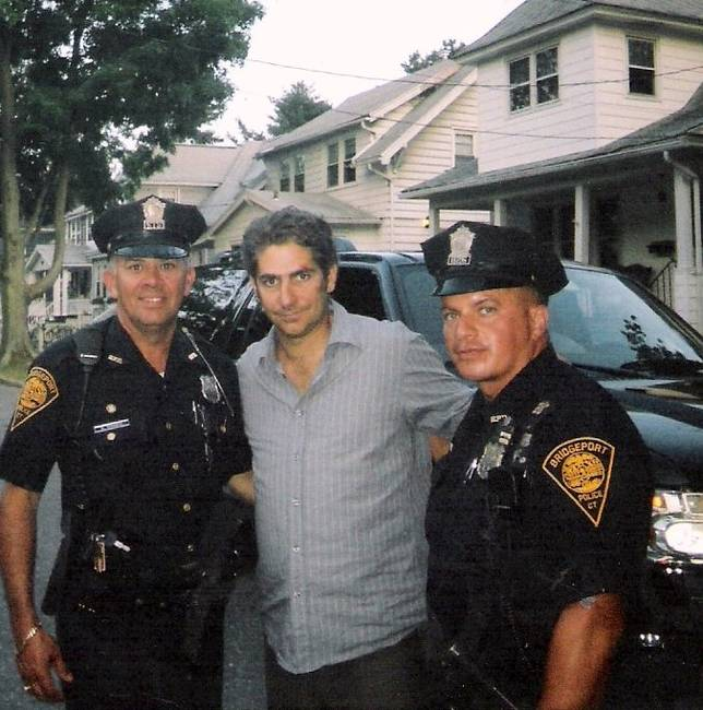 For One More Day movie set 2007 Michael Imperioli