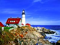 Portland Head Light at Fort Williams Park, Maine