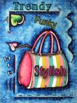 hip trendy stylish PURSE PNG