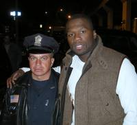 50 cent ( Curtis Jackson)Righteous Kill movie set