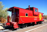 Old Red Caboose 0024