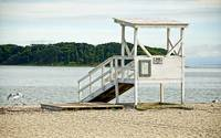 Empty Lifeguard Station