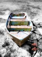 Beached Boat Hand Color II