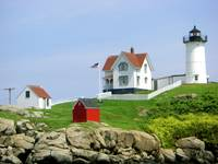 nubble lighthouse by tracie brown