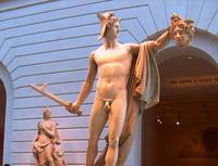 Perseus with the Head of Medusa by Wendy Ritch