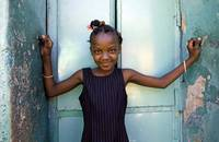 Haiti, Cap Haitien, local girl