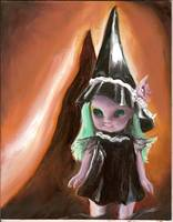 Emerald the Enchanting witch