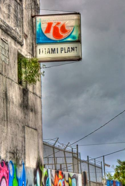 Abandoned RC Cola Plant