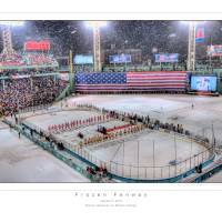 """Frozen Fenway, January 8, 2010"" by robertlussier"