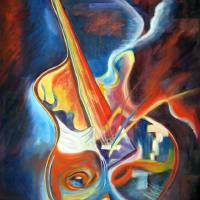 SOUL GUITAR Art Prints & Posters by IRENE NOWICKI