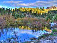 Big Cottonwood Canyon Utah HDR Beaver pond