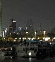 Abu Dhabi 1 Marina at night