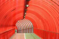 red tunnel