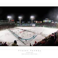 """Frozen Fenway Panorama"" by robertlussier"