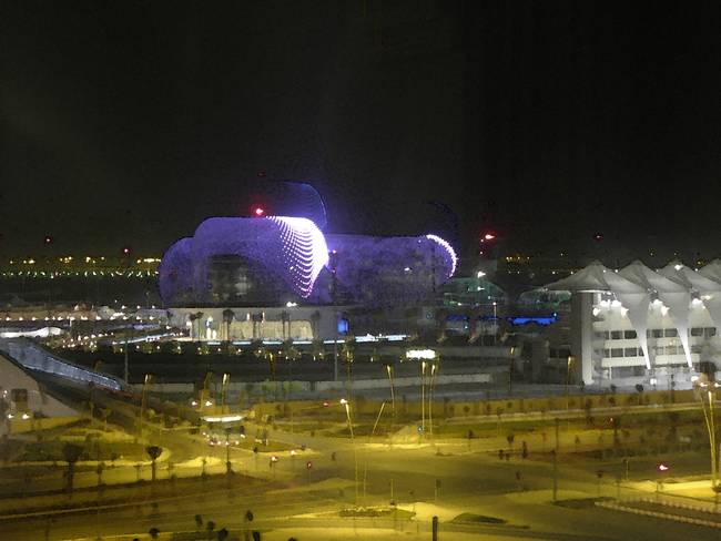 F1 Yas Marina, After Dark