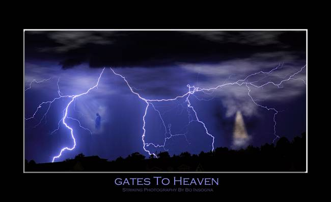 Gates to Heaven Poster Print