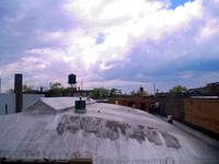 Rooftop Phantasy with Razor Wire