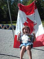 Canada Day for my little one