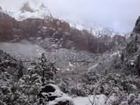 Zion Snowy Mountain1