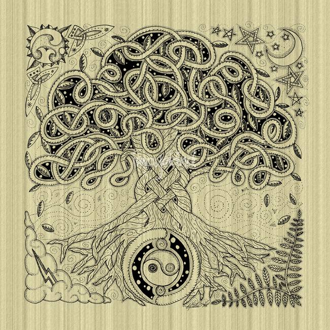 Celtic Tree Of Life Inked By Kristen Fox