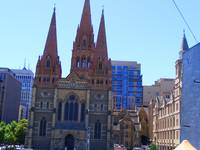 Cathedral in Downtown Melbourne