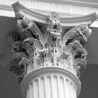 """Corinthian Capitol detail"" by iCAS"