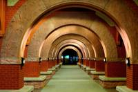 Metro station arches