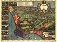 1871 Map of Los Angeles, CA