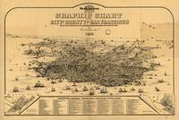 1875 San Francisco, CA Graphic Chart / Panoramic M