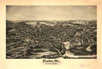 1894 Houlton, ME Bird's Eye View Panoramic Map