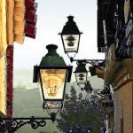 Street lamps by Deanne Flouton