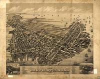 1879 East Boston, MA Panoramic Map